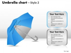 PowerPoint Layouts Editable Umbrella Chart Ppt Slidelayout