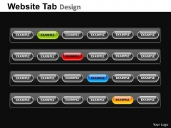 PowerPoint Layouts Editable Website Ppt Process