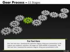 PowerPoint Layouts Education Gears Process Ppt Backgrounds