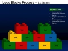 PowerPoint Layouts Education Lego Blocks Ppt Templates