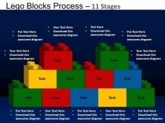 PowerPoint Layouts Education Lego Blocks Ppt Themes