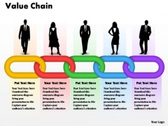 PowerPoint Layouts Global Business Value Chain Ppt Backgrounds