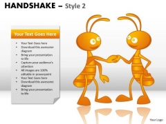 PowerPoint Layouts Global Handshake Ppt Slide