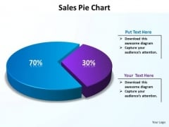 PowerPoint Layouts Growth Data Driven Pie Chart Ppt Designs