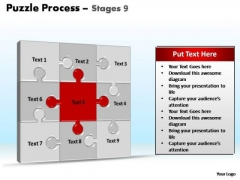 PowerPoint Layouts Growth Puzzle Process Ppt Presentation