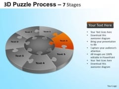 PowerPoint Layouts Image Jigsaw Pie Chart Ppt Slide Designs