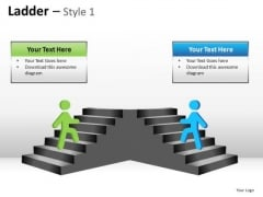 PowerPoint Layouts Ladder Diagram Ppt Presentation