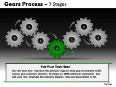 PowerPoint Layouts Marketing Gears Process Ppt Backgrounds