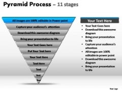 PowerPoint Layouts Marketing Pyramid Process Ppt Backgrounds