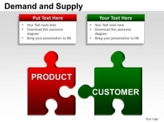 PowerPoint Layouts Process Demand And Supply Ppt Presentation