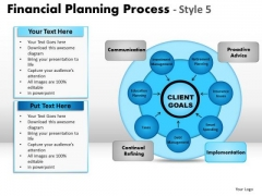 PowerPoint Layouts Process Financial Planning Ppt Design