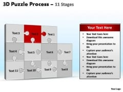 PowerPoint Layouts Process Puzzle Process Ppt Backgrounds
