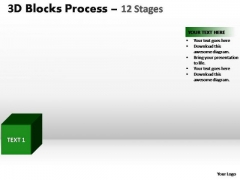 PowerPoint Layouts Sales Blocks Process Ppt Template