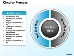 PowerPoint Layouts Sales Circular Process Ppt Themes