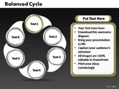 PowerPoint Layouts Sales Cycle Process Ppt Slide Designs