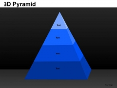 PowerPoint Layouts Sales Pyramid Ppt Presentation