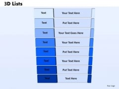PowerPoint Layouts Strategy Bulleted List Ppt Templates