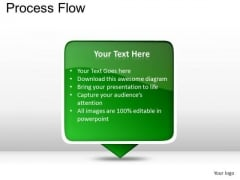 PowerPoint Layouts Strategy Process Flow Ppt Slides