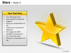 PowerPoint Layouts Strategy Stars Ppt Design