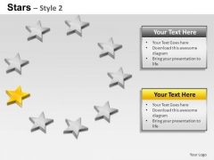 PowerPoint Layouts Strategy Stars Ppt Themes