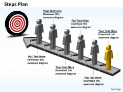 PowerPoint Layouts Strategy Steps Plan 6 Stages Style 6 Ppt Slides