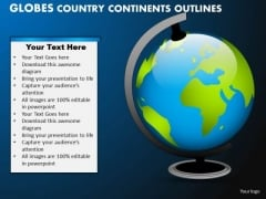 PowerPoint Layouts Success Globes Country Ppt Slides