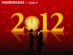 PowerPoint Presentation 2012 Handshake Ppt Design Slides