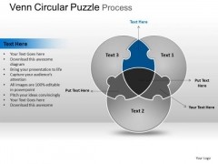 PowerPoint Presentation Business Circular Puzzle Ppt Templates