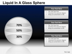 PowerPoint Presentation Business Competition Liquid In A Balls Sphere Ppt Slides