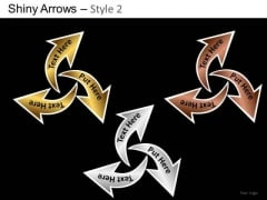 PowerPoint Presentation Business Designs Shiny Arrows 2 Ppt Templates