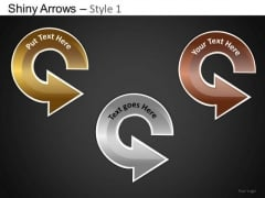 PowerPoint Presentation Business Growth Shiny Arrows Ppt Templates
