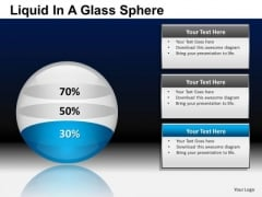 PowerPoint Presentation Business Strategy Liquid In A Balls Sphere Ppt Themes