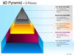 PowerPoint Presentation Business Strategy Pyramid Ppt Slides