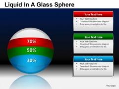 PowerPoint Presentation Business Success Liquid In A Balls Sphere Ppt Templates