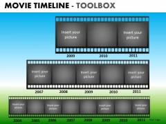 PowerPoint Presentation Business Teamwork Vision Movie Timeline Ppt Themes