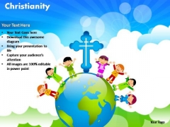 PowerPoint Presentation Chart Christianity Ppt Designs