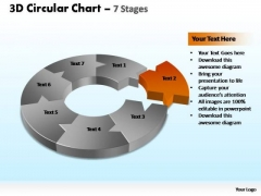 PowerPoint Presentation Chart Circular Chart Ppt Theme