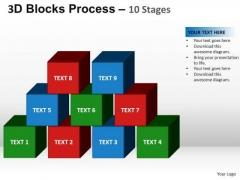 PowerPoint Presentation Company Blocks Process Ppt Backgrounds