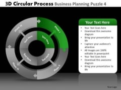 PowerPoint Presentation Company Competition 3d Circular Chart Process Ppt Slide