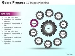 PowerPoint Presentation Company Gears Process Ppt Theme