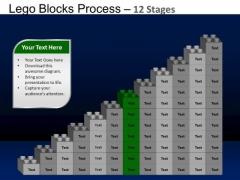 PowerPoint Presentation Company Lego Blocks Ppt Slides