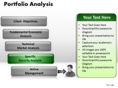 PowerPoint Presentation Company Portfolio Analysis Ppt Process
