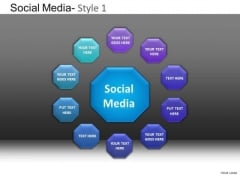 PowerPoint Presentation Corporate Strategy Social Media Ppt Designs