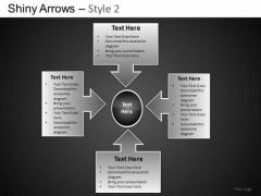 PowerPoint Presentation Corporate Success Shiny Arrows 2 Ppt Slides
