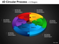 PowerPoint Presentation Cycle Chart Circular Process Ppt Slides