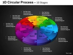 PowerPoint Presentation Cycle Process Circular Process Ppt Backgrounds