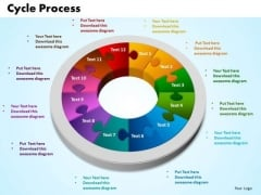 PowerPoint Presentation Cycle Process Growth Ppt Theme