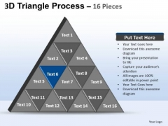 PowerPoint Presentation Designs Business Triangle Process Ppt Slides