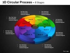 PowerPoint Presentation Designs Circle Process Circular Process Ppt Slides
