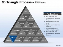 PowerPoint Presentation Designs Company Triangle Process Ppt Slides